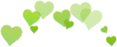green hearts💚 #heart #green #aesthetic #tumblr #png #l4l #army #freetoedit