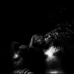 dark blackandwhite black sculpture photography