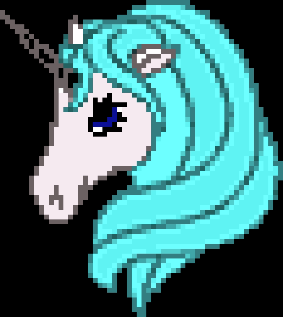 Pixel Art Ideas Unicorn