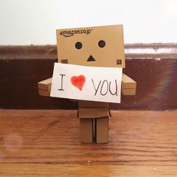 pcconfessinglove confessinglove love danbo sweet freetoedit