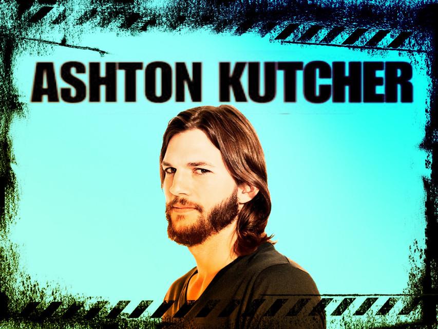 #freetoedit  #ashtonkutcher #picsart  #ashtonkutcher