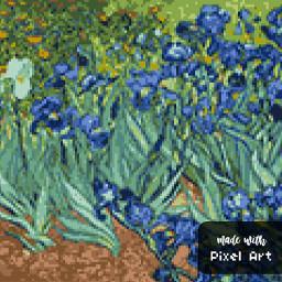 pixelart pixel art picsart flowers