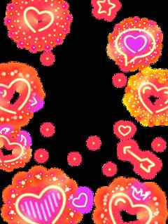 fte freetoedit neonframe neonlove love