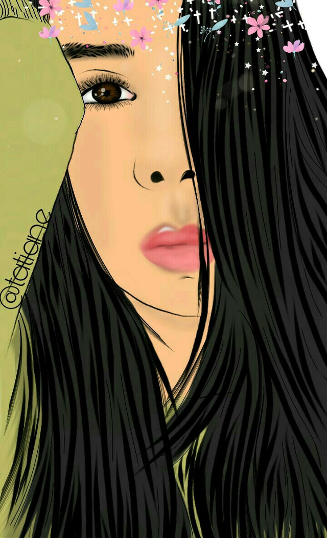 #freetoedit #mydrawing #girl#eye #friend #hair #style #cute#people #star #vipbrushtool
