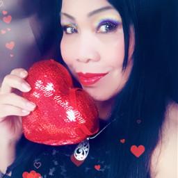 valentinesday freetoedit selfie valentinesselfie selfiart