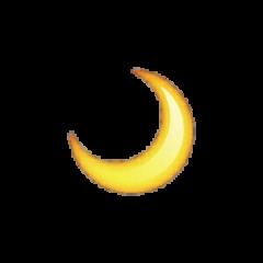 moon moonemoji emoji sticker freetoedit