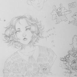 sketch myart oc art pencil