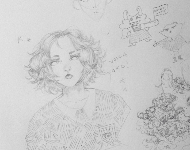 Holy shit im scREAMING i stop drawing for six weeks and i come back to this. Oh dear someone help i cant do the art  #sketch #myart #oc #art #pencil