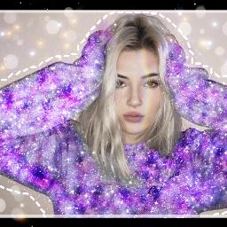freetoedit tumblrgirl galaxy