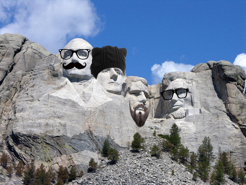 #freetoedit #hipster #incognito #mtrushmore #deadpresidents #presidentsday #dailyremixchallenge