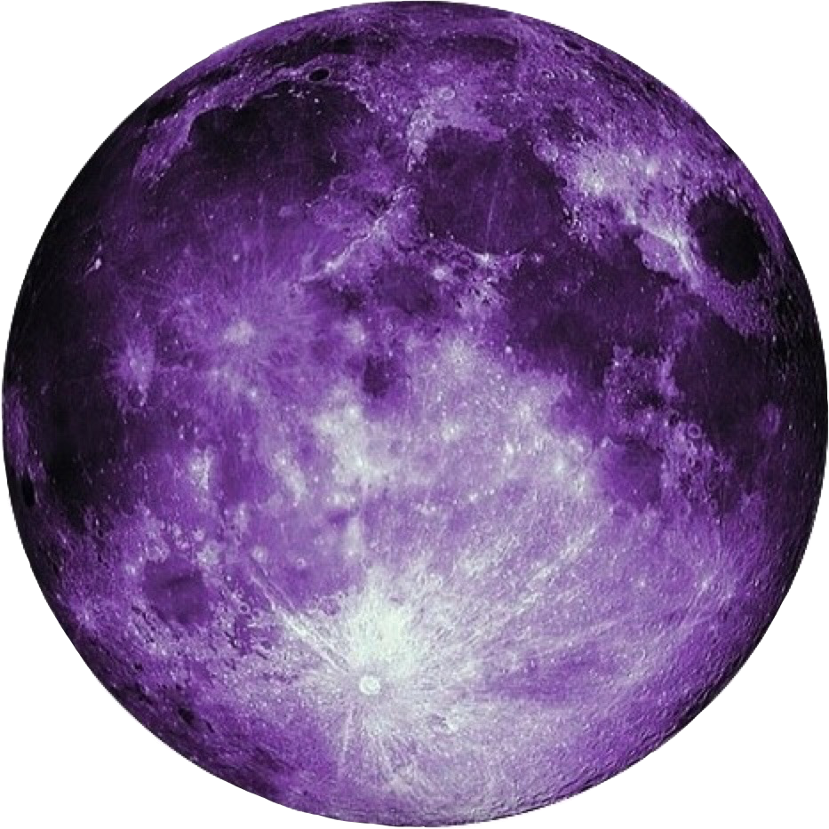Beautiful Purple Moon Purple Moon Freetoedit