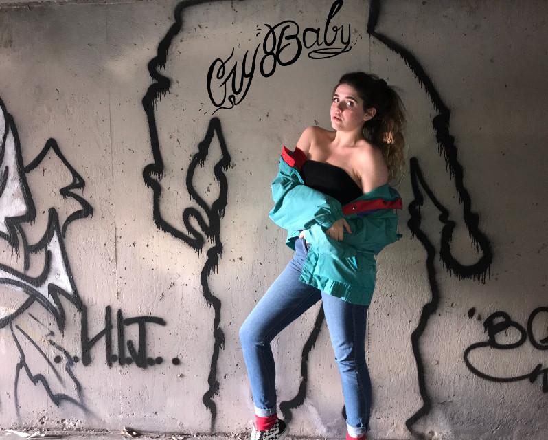 #freetoedit #aestheticedit #aesthetic #model #graffiti