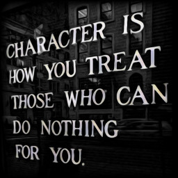character respect