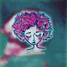art character purple