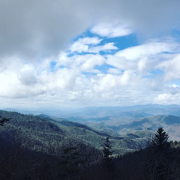 photography mountains clouds blueridgeparkway