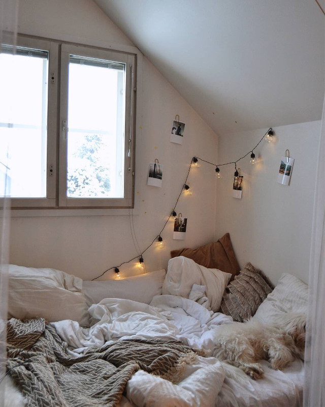 #freetoedit 👉🏼 #MyHome #Bed #Lights #Room 💕 @pa