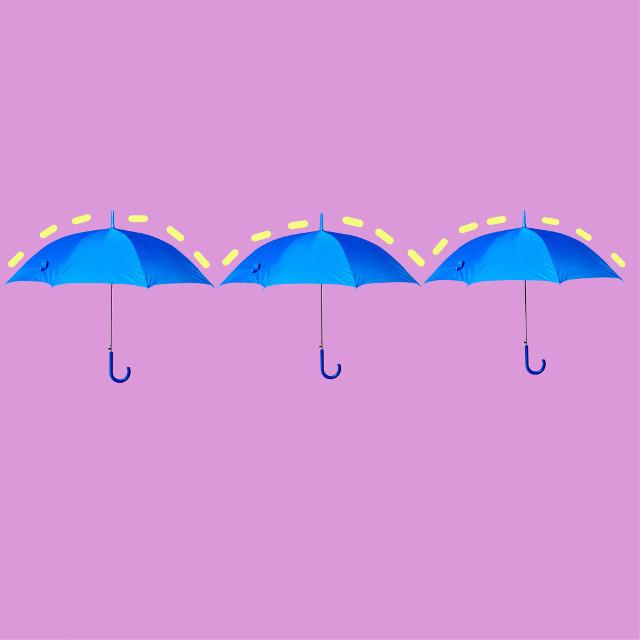 #freetoedit #umbrella #blue