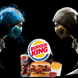 burgerking mortalkombat kombo
