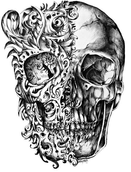 Face Tatoos Transparent: Sctattoo Tattoo Stickers Edit Edits Png Head Face Pic