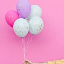 freetoedit globos happy pink live