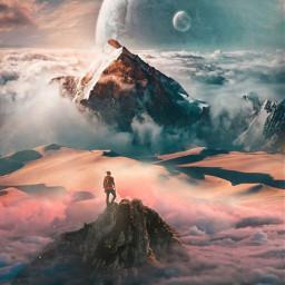 freetoedit myedit edit surreal landscape