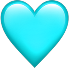 heart hearts tim tym blue freetoedit