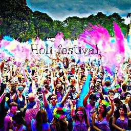 holi holifestival holifest holifestivalofcolours holiday freetoedit