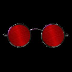 red sunglasses glass chasma style freetoedit