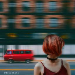 speedeffects motionblur conseptual girl redhair freetoedit