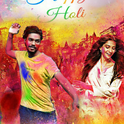 holi happy_holi colurfull colourfun colourfestival freetoedit