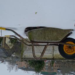 photography travel wheelbarrow upturned wheel