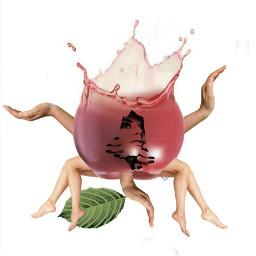 freetoedit maçã body corpo braço