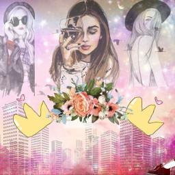 banner facebook fashion girl picsart freetoedit