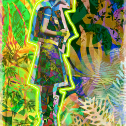 greenhouseeffect electrifiedbyanger retrogirl collagecollection