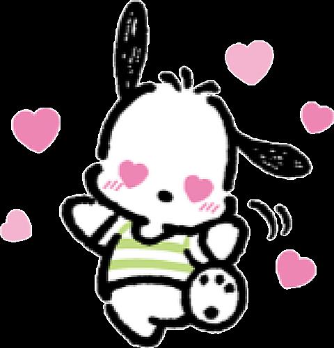 夢かわいい 可愛い Heart ハート ♡ うさぎ Rabbit ribbon 素材