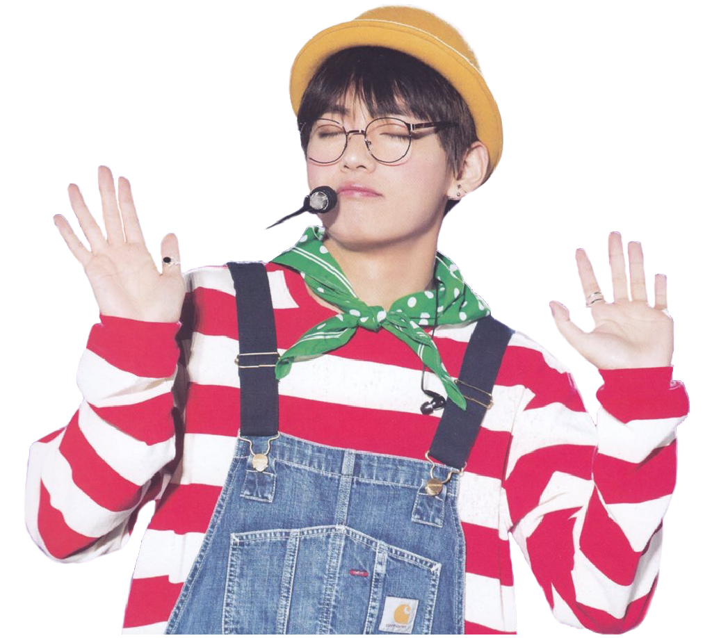 Tae Sticker From My Most Recent Edit Tae V Bts Sticker