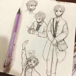 sketch doodle illustation oc sammitoons