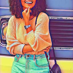 freetoedit girl smile movement surreal remixit