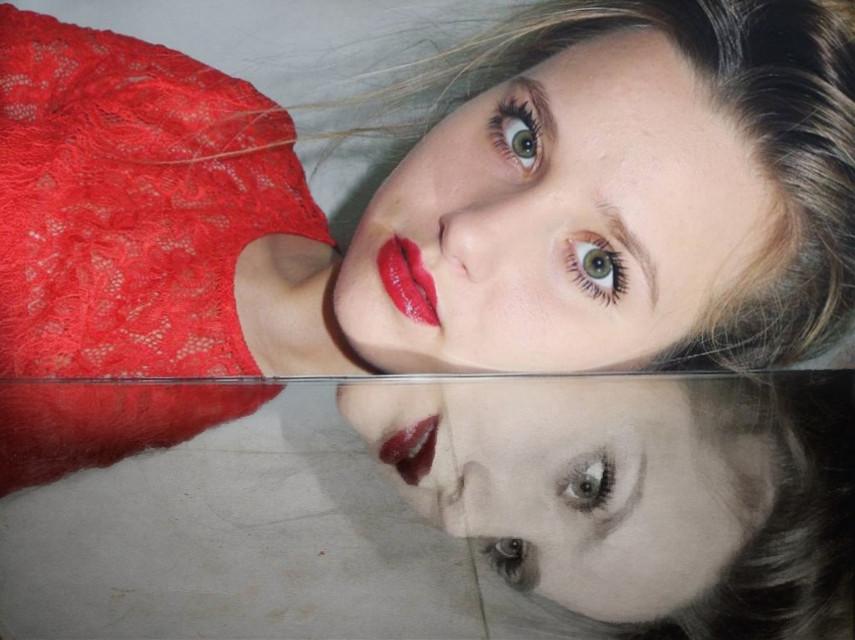 #freetoedit #mirror #red
