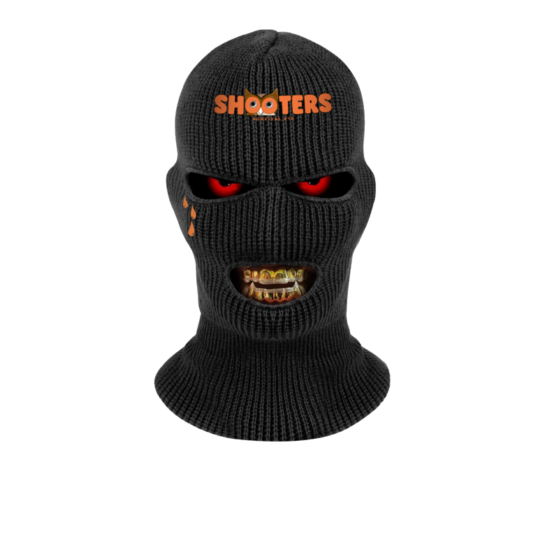 Shooters Skimask Grillz Goldteeth