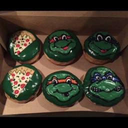 freetoedit ninjaturtles donuts