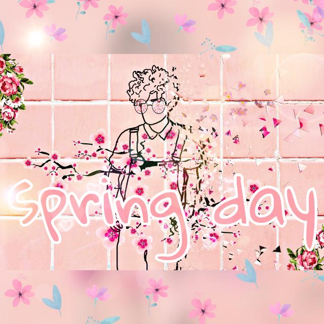 #spring #flower #pinkyboy