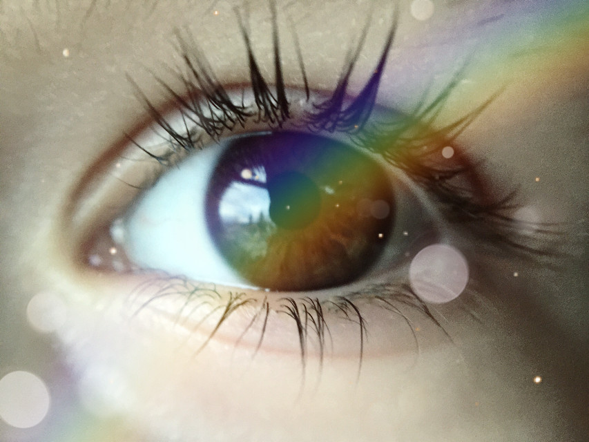Hello Sunshine  #eye #macro #rainbow