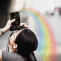 freetoedit dailyremix rainbow colorful stars