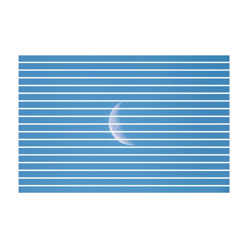 stripes blue white moon overlay edit tumblr aesthetic