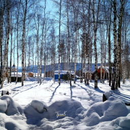 huaweicreatives travel travelphotography Baykal lake intelligent snow siberia russia picsart