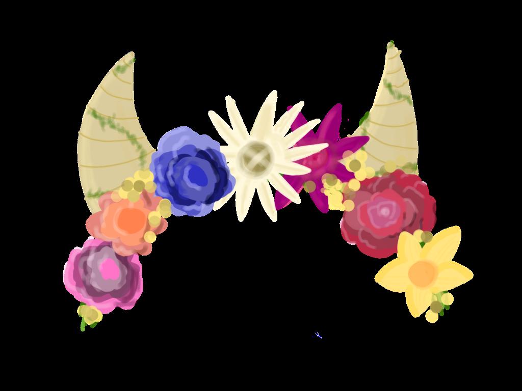 Horns demon devil flowers flowercrown horn vines nature report abuse izmirmasajfo