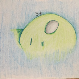 katokachan katokateam drawing alien myart