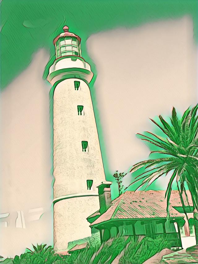 #freetoedit  #greenmagiceffect #lighthouse #picsart