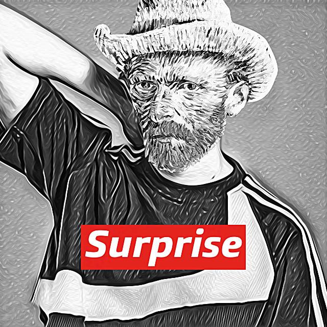 #freetoedit #vangogh #supreme #gogh #cowboy #red #magiceffect
